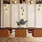 Splink Lampe Suspension 3 Douille E27 Support DIY pour Maison , Bar , Restaurants, Café, Club de la marque Splink image 4 produit