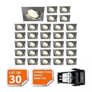 spot carré led encastrable TOP 6 image 0 produit