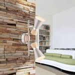 Spot de plafond couloir Plafonnier 2spots plafonnier en bois/couloir lampe spots mobiles (Éclairage de Plafond Salon Lampe Spot, Plafonnier, Couvre-lit, 30cm, 2x à culot E14) de la marque Globo image 1 produit