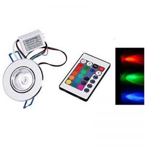 Spot encastrable collerette inox 3w RGB multicolore orientable de la marque LED7 image 0 produit