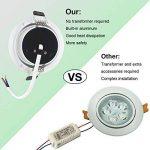 spot encastrable led blanc TOP 10 image 1 produit