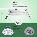 spot encastrable led blanc TOP 10 image 2 produit