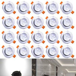 spot encastrable led blanc TOP 11 image 0 produit