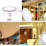 spot encastrable led blanc TOP 12 image 4 produit