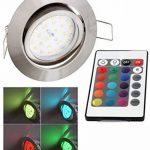 spot encastrable led changement de couleur TOP 1 image 1 produit