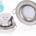 Spot encastrable à LED pour pièces humides IP54230V–5W–460lm–Fonte d'Aluminium–Trou de perçage Ø68mm–tagesweiß (4000K) de la marque HAVA image 1 produit