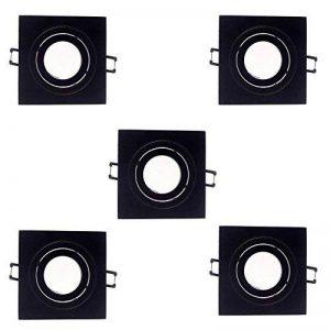 spot encastrable noir mat TOP 6 image 0 produit