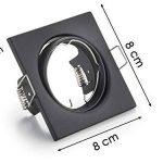 spot encastrable noir mat TOP 7 image 3 produit