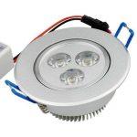Spot LED Auralum® Lot de 30 Plafonnier LED Orientable 3W Fixation Spot Encastrable Lumière Blanc Chaud Lampe Ronde pour Salon Veranda de la marque AuraLum image 3 produit