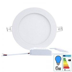 Spot led downlight rond 6w slim blanc froid de la marque Techbox image 0 produit