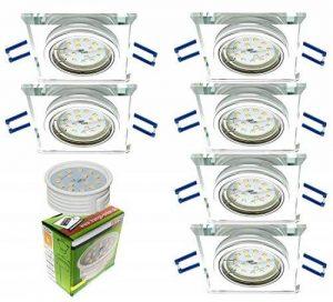 spot led encastrable carré blanc TOP 4 image 0 produit