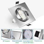 spot led encastrable plafond gu10 TOP 12 image 2 produit