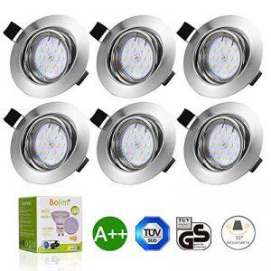 spot led encastrable plafond salle de bain TOP 4 image 0 produit