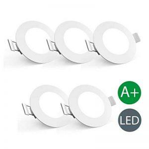 spot led extra plat orientable TOP 4 image 0 produit