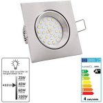 spot led plat encastrable TOP 9 image 1 produit
