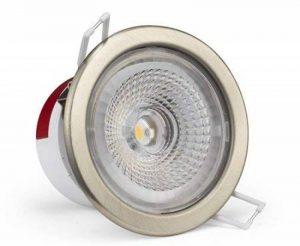 Spot LG encastrable fix,collerette inox 9,5w 3000k lumière blanc chaud (lumière jaune) de la marque LG image 0 produit