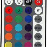 Spot plat encastrable et orientable à LED RVB 230V Avec télécommande, changement de couleur et 3niveaux d'intensité variable Moderne Eisen-gebürstet de la marque HAVA image 4 produit