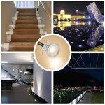 Spots LED Encastrables, Tomshine 16PCS Spots LED pour Terrasse, 0.6W Etanche IP67, Spot LED Lampe Extérieur, pour Chemin Contremarches d'escalier Piscine (Blanche chaude) de la marque Tomshine image 1 produit