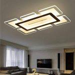 SSLW Plafond LED plafonnier Moderne Minimaliste Mince Salon Lampe Chambre éclairage Créatif Acrylique de la marque SSLW image 1 produit