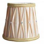 Style Européen Clip on Abat-jour A Pince en Tissu Handmade de Splink pour Bougie Lustre Lampe de Table Applique Murale 85*120*110mm , Lot de 2 de la marque Splink image 1 produit