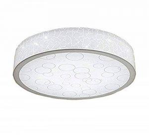 Style Home X288-33W Plafonnier pour salle de bain Éclairage LED 4 intensités Blanc Ø 500 mm 33 W de la marque Stylehome image 0 produit