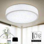 Style Home X288-33W Plafonnier pour salle de bain Éclairage LED 4 intensités Blanc Ø 500 mm 33 W de la marque Stylehome image 3 produit
