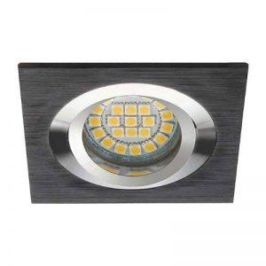 Support spot carré - Encastrable orientable - Finition - Noire de la marque Kanlux image 0 produit
