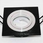 Support spot carré - Encastrable orientable - Finition - Noire de la marque Kanlux image 3 produit