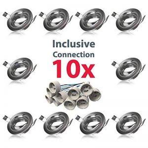 support spot encastrable TOP 11 image 0 produit