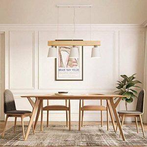 Suspension 5W moderne Lampe LED Plafonnier Hauteur Réglable Lustre plafond Lampe Pendentif lumière (Blanc 3 lumières) de la marque GBLY image 0 produit