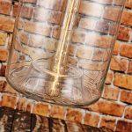 Suspension cylindrique en verre style vintage de la marque LOMT image 1 produit