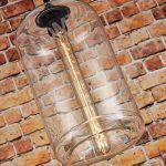 Suspension cylindrique en verre style vintage de la marque LOMT image 2 produit