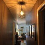 Suspension luminaire industrielle, ZZ Joakoah® lustre plafonnier vintage, lampe de culot E27 en métal pour cuisine salon salle à manger chambre restaurant café repas boutique. de la marque ZZ Joakoah image 2 produit
