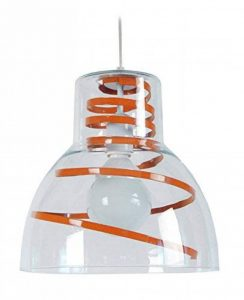 suspension luminaire orange TOP 1 image 0 produit