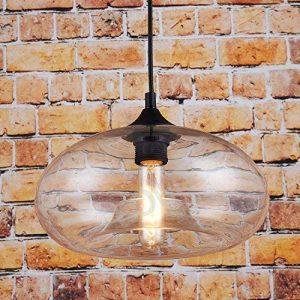 Suspension lumineuse en verre style vintage Transparent de la marque LOMT image 0 produit