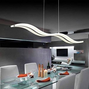 Suspension,Lustre Salon Moderne LED,Create For LifeSuspension LED,Moderne LED Lustre, Suspendus Luminaire Plafond led Lampe,6000k de la marque Create for Life image 0 produit