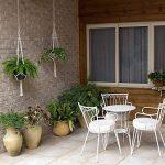 Suspension Plante Macramé Decoration Porte Plantes Jardin Intérieur ou Extérieur 4 Jambes en Corde de Coton 105 cm de la marque Ecjiuyi image 3 produit
