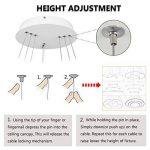 suspension réglable luminaire TOP 9 image 3 produit