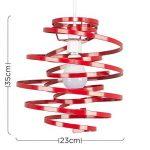 suspension rouge TOP 3 image 1 produit