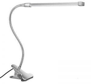 Svance USB Lampe à Pince LED avec 3 Modes (Apprentissage / Lecture / Détente), dimmable LED Lampe de Bureau (10 Niveaux de Luminosité) / (Argent) de la marque Svance image 0 produit