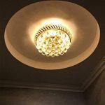 SX-CHENG *Lampe Lustre Moderne en Cristal K9, Lustre décoratif de Goutte d'eau, Lustre en Cristal de Salon de Chambre à Coucher de Salon (Couleur : (3 Heads) 35cm (Three Colors)) de la marque SX-CHENG image 2 produit
