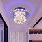 SX-CHENG *Lampe Moderne LED Cristal Plafonnier Lustre Manche/Balcon Lumière (Quatre Couleurs) de la marque SX-CHENG image 2 produit