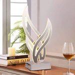 Étage Lampe Salon Chambre Étude Simple Post-Moderne Sofa Personnalité Créatrice LED Lampadaire Vertical,White,B de la marque Charik image 2 produit