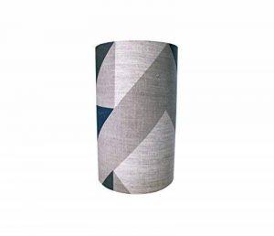 Tamasyn Gambell Bleu, Charbon de bois et gris Avion Curve Lin Abat-jour, Mini, d'autres, Bleu gris anthracite de la marque Tamasyn Gambell image 0 produit