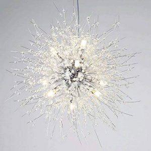 TangMengYun Lustre en cristal à LED simple moderne, Art créatif Lampes décoratives Plafonnier, Chambre Salle d'étude Salon Lustres Lampe Suspension de la marque TangMengYun image 0 produit