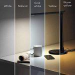 TaoTronics Lampe de Bureau LED 5 Modes de Couleur et 7 Niveaux de Luminosité Ajustable Contrôle Tactile Protection des Yeux Lampe de Table avec 1 Port Chargeur USB pour Charger Smartphone de la marque TaoTronics image 1 produit