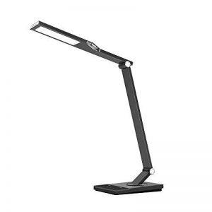 TaoTronics Lampe de Bureau LED Lumineux de 1000 Lux, Réglable Design 5 Modes de Couleurs et Gradient Dimming (Gris Sidéral) de la marque TaoTronics image 0 produit