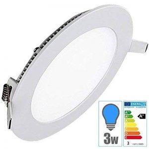 TechBox® Spot encastrable downlight plafonnier led 3W extra plat blanc froid de la marque TechBox image 0 produit