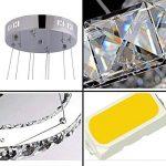 Tenlion Crystal Lustre Pendentif Lampe de Plafond 30cm * 50cm * 70cm Cool Blanc de la marque TENLION image 3 produit