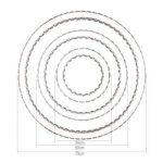 Tenlion Crystal Lustre Pendentif Lampe de Plafond 30cm * 50cm * 70cm Cool Blanc de la marque TENLION image 4 produit